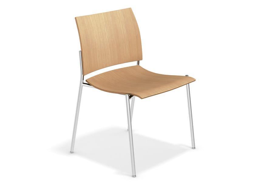 Wooden training chair FENIKS XL | Wooden chair - Casala