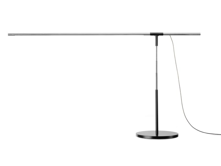 LED direct light metal table lamp ANTENNA - VERTIGO BIRD