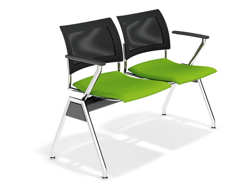 Beam seating with armrests FENIKS TRAVERSE | Beam seating - Casala