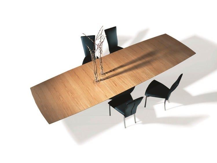 Extending dining table ADLER II - Draenert