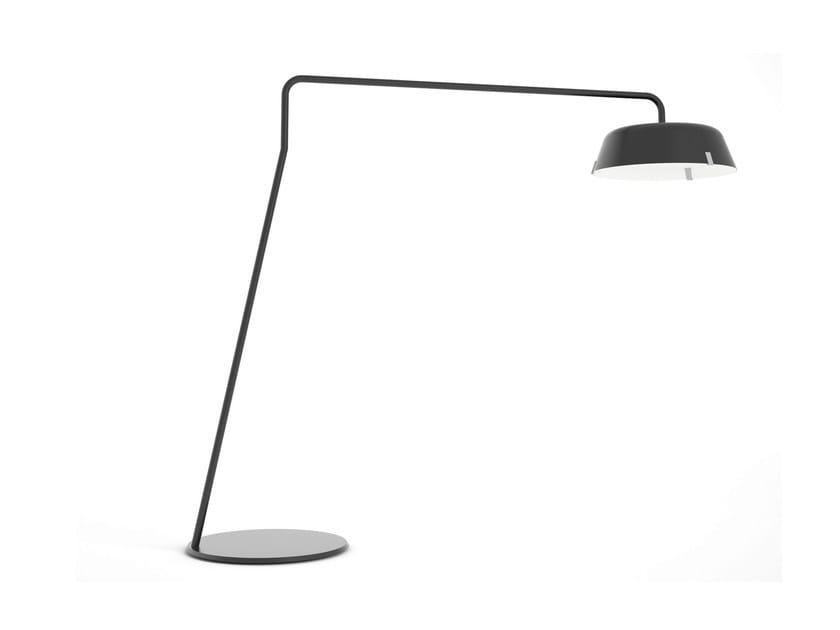 Acrylic floor lamp BORDERLINE BIG FOOT - VERTIGO BIRD
