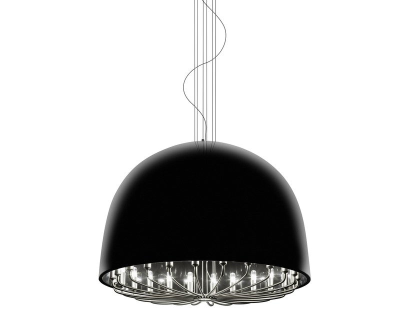 Direct light steel pendant lamp FORCE LAMP - VERTIGO BIRD