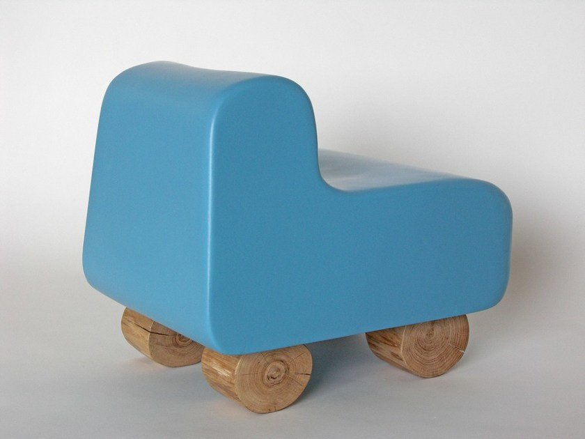 Resin kids armchair CAMION by Binome