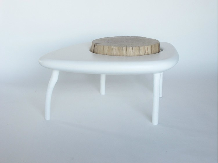 Low wooden coffee table CRATÈRE | Low coffee table - Binome
