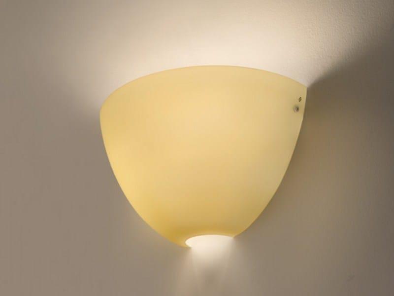 Blown glass wall light MOBY AP - Vetreria Vistosi