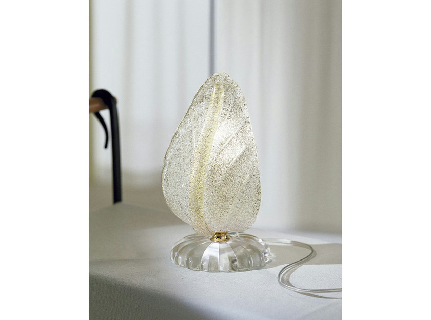 Glass table lamp MORRISE LT - Vetreria Vistosi