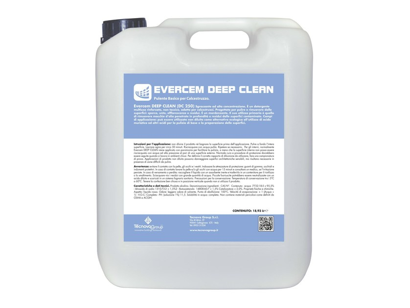 Surface cleaning product EVERCEM DEEP CLEAN - TECNOVA GROUP®