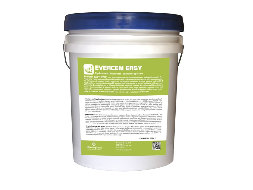 Mortar and grout for renovation EVERCEM EASY - TECNOVA GROUP®