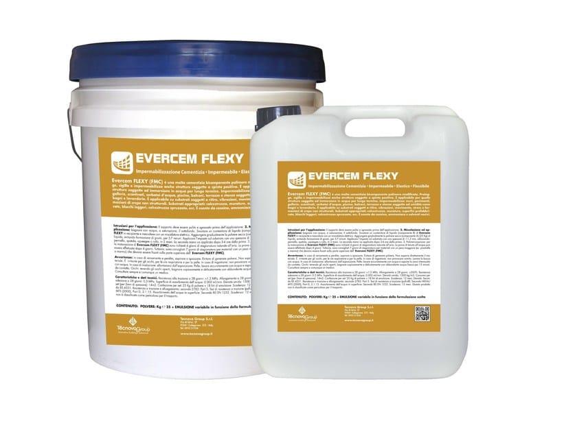 Cement-based waterproofing product EVERCEM FLEXY - TECNOVA GROUP®
