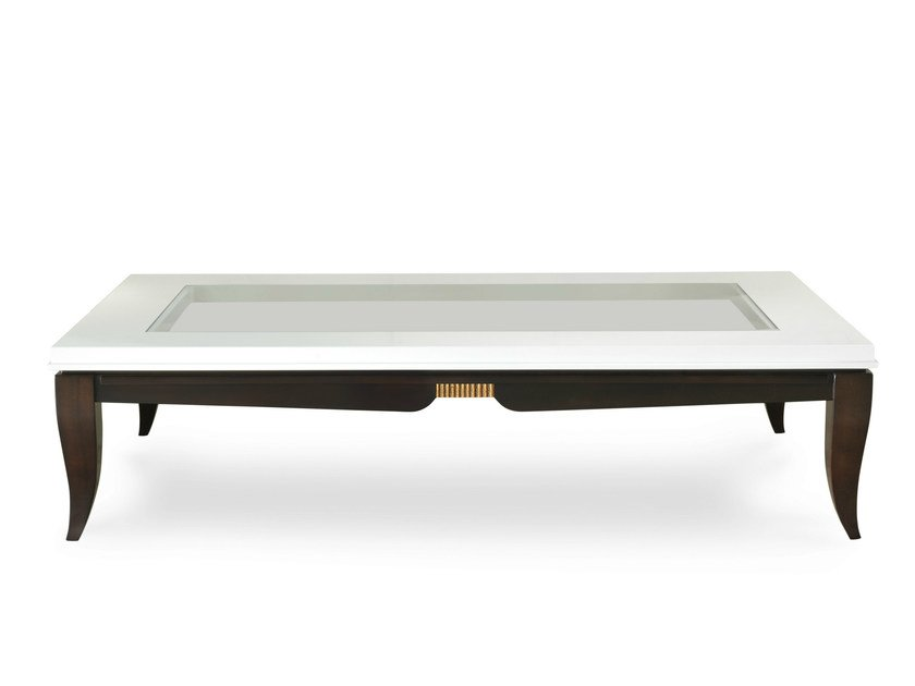 Low coffee table for living room champagne by transition for Low living room table