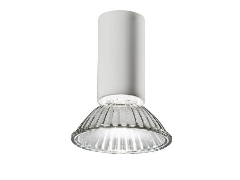 Ceiling aluminium spotlight NAKED A - VERTIGO BIRD