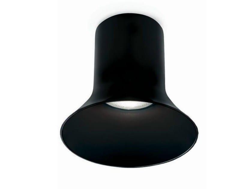 Direct light aluminium ceiling lamp SAX 200 - VERTIGO BIRD