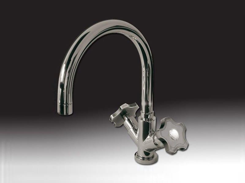 Countertop 1 hole kitchen tap GIO' CRYSTAL | Countertop kitchen tap - Giulini G. Rubinetteria