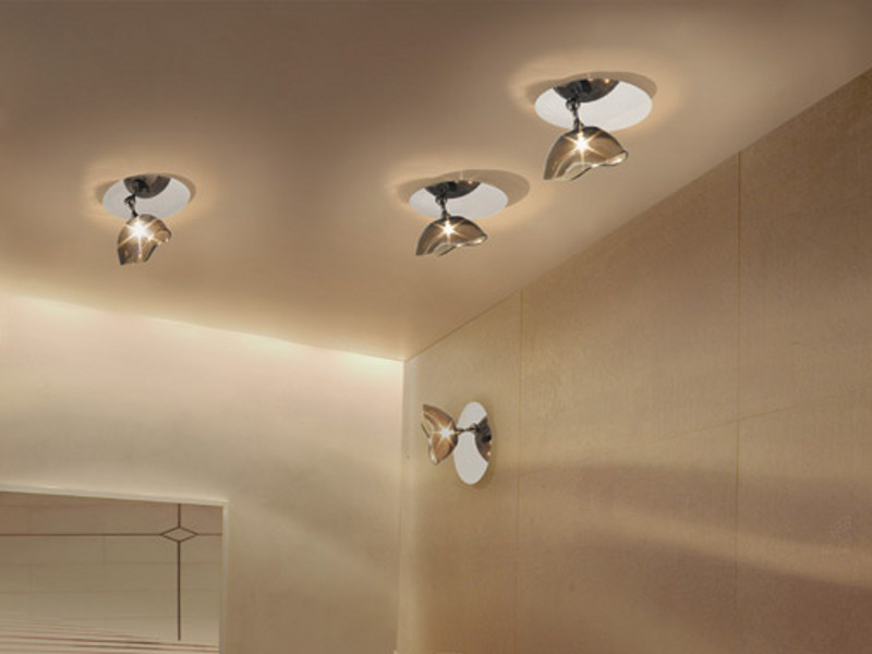 Murano glass ceiling lamp NINFEA AP - Vetreria Vistosi