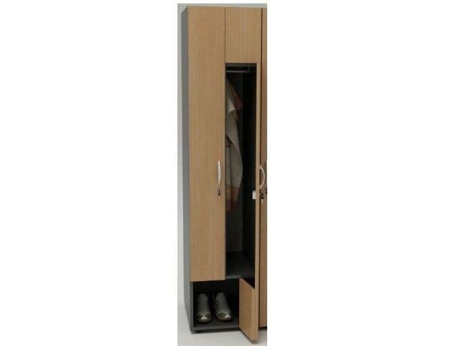 Locker Wooden locker - Castellani.it
