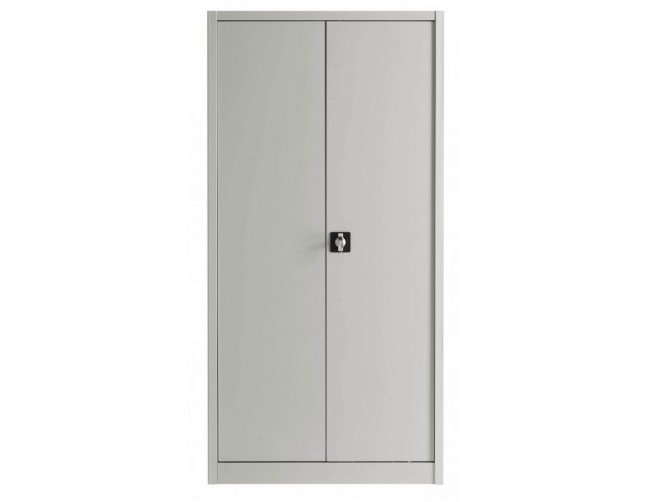 Metal office storage unit with hinged doors with lock Metal office storage unit - Castellani.it