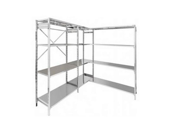 Stainless steel shelveing system Stainless steel shelving unit by Castellani.it