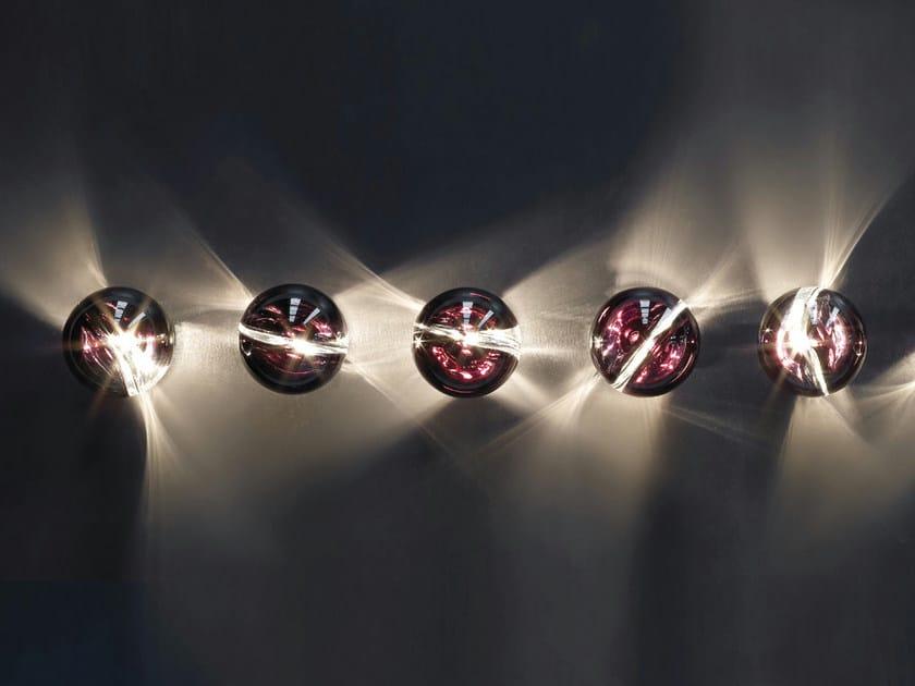 Glass wall lamp / ceiling lamp POC FA - Vetreria Vistosi