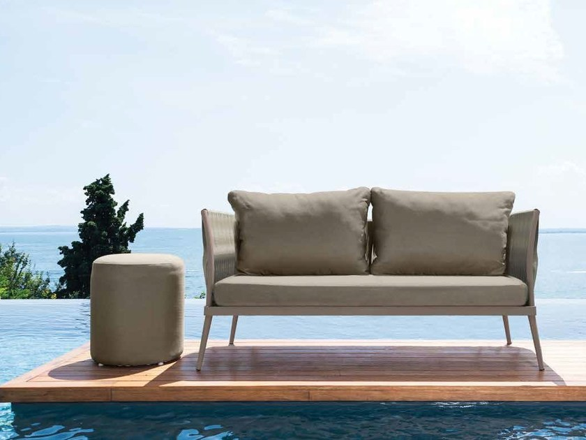 2 seater fabric sofa ELITE   Sofa by Talenti