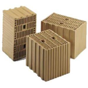 Clay building block THERMOBLOCK® T 16 - DECORUS