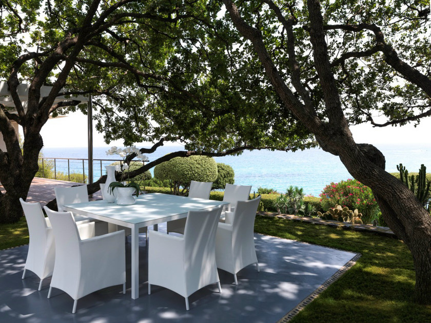 Garden table TOUCH   Square table by Talenti