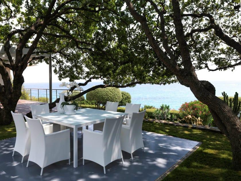 Garden table TOUCH | Square table - Talenti