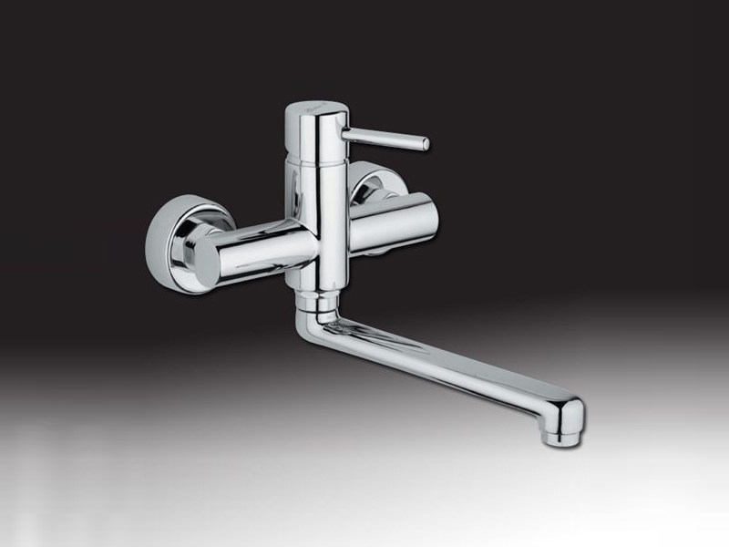 2 hole wall-mounted kitchen mixer tap FUTURO | Wall-mounted kitchen mixer tap - Giulini G. Rubinetteria