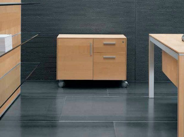 Office drawer unit with casters ZEFIRO EXE | Office drawer unit by Castellani.it