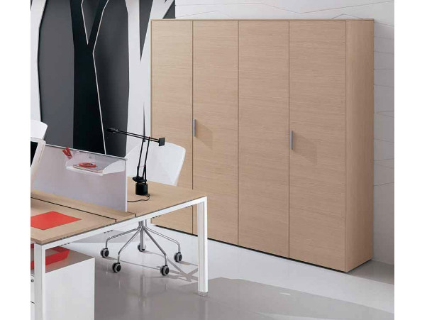 Wooden office storage unit with hinged doors PEGASO | Office storage unit with hinged doors - Castellani.it