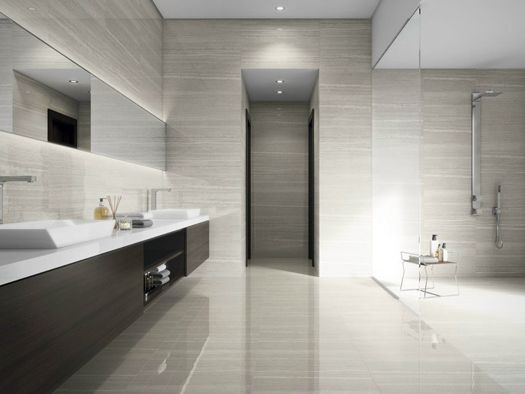 Porcelain stoneware wall floor tiles serpentina by revigr s for Catalogue salle de bain pdf