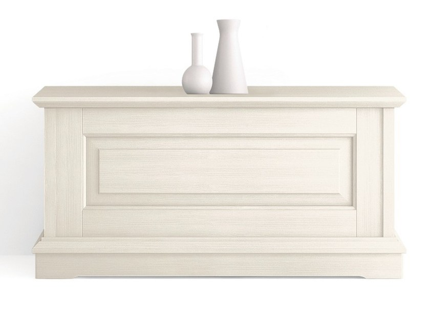 Wooden storage chest ARIETTE | Storage chest by Scandola Mobili