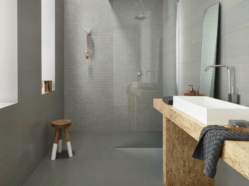 Indoor porcelain stoneware wall tiles FLAT - Revigrés