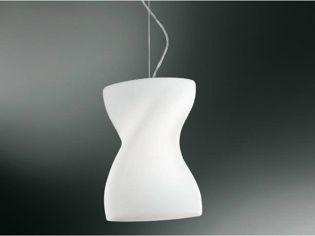 Blown glass pendant lamp CORPETTO | Pendant lamp - Cattaneo Illuminazione