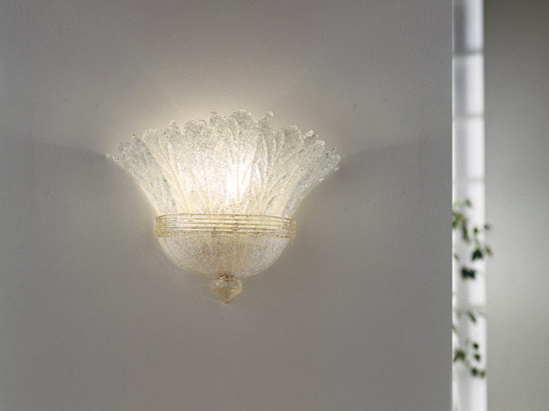Glass wall lamp REDENTORE AP 7F P - Vetreria Vistosi