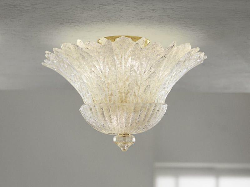 Glass ceiling lamp REDENTORE PL 16FP - Vetreria Vistosi