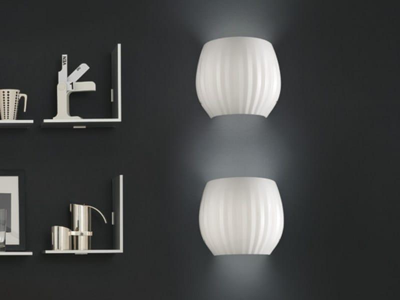 Blown glass wall lamp REDER AP G - Vetreria Vistosi
