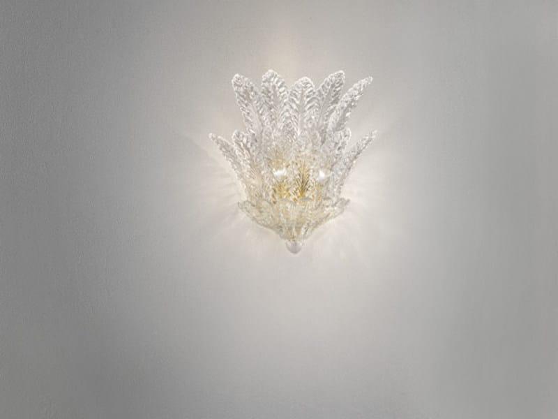 Crystal wall lamp RIALTO AP 12F - Vetreria Vistosi