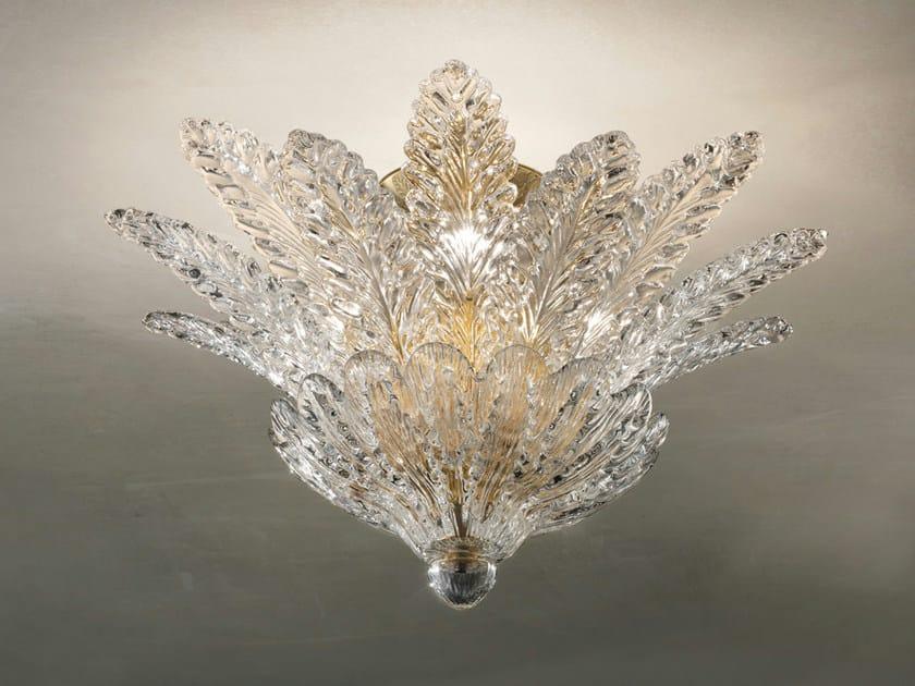 Crystal ceiling lamp RIALTO PL 16F - Vetreria Vistosi