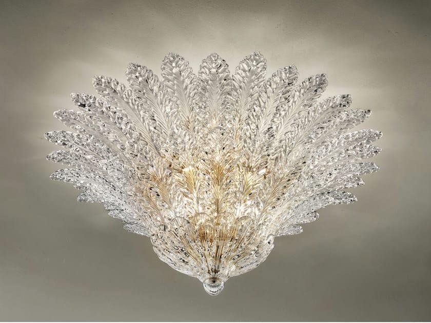 Crystal ceiling lamp RIALTO PL 46F - Vetreria Vistosi