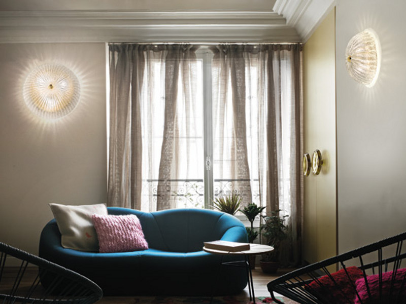 Glass wall light RIGA PP - Vetreria Vistosi