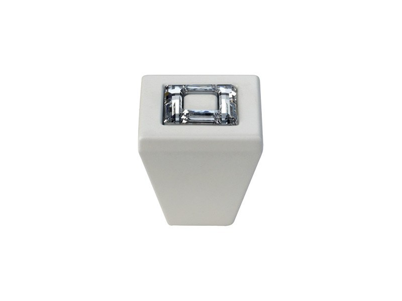 Contemporary style brass Furniture knob with Swarovski® Crystals RING | Furniture knob with Swarovski® Crystals - LINEA CALI'