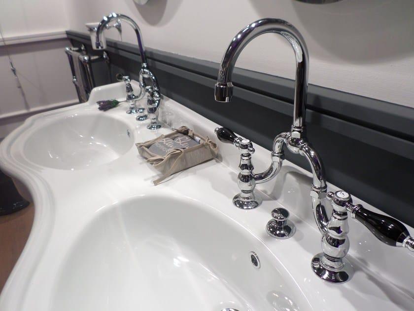 Bridge mixer RL1014 | Washbasin tap - BLEU PROVENCE