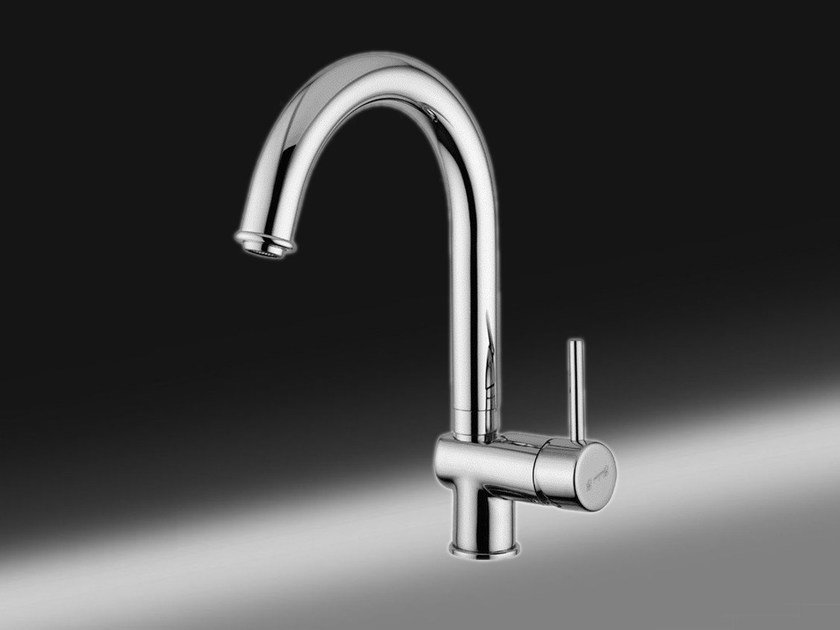 Countertop 1 hole kitchen mixer tap FUTURO | 1 hole kitchen mixer tap - Giulini G. Rubinetteria
