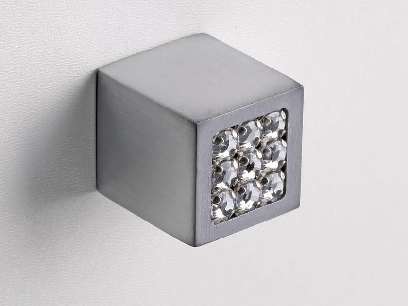 Furniture knob satin chrome SPARKLE SUITE | Furniture knob by Frascio