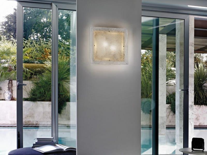 Glass wall light SOFFIO AP - Vetreria Vistosi