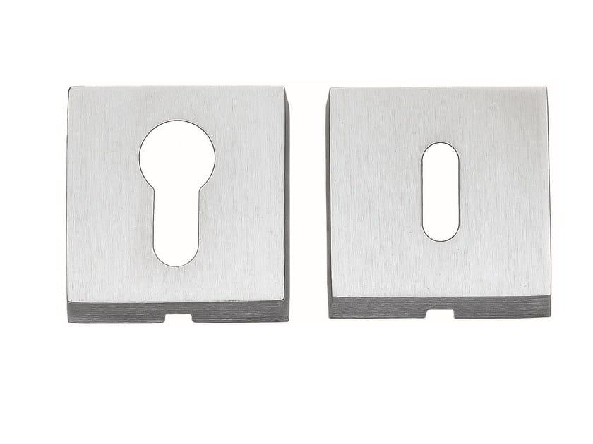 Square keyhole escutcheon 50 Q - Frascio