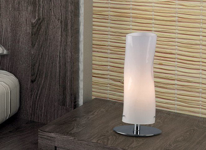 Blown glass bedside lamp GIBÒ | Table lamp - Cattaneo Illuminazione