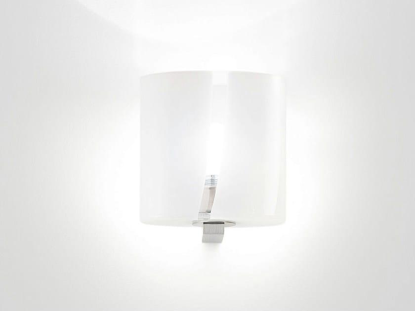 Blown glass wall lamp SEGRETO AP - Vetreria Vistosi