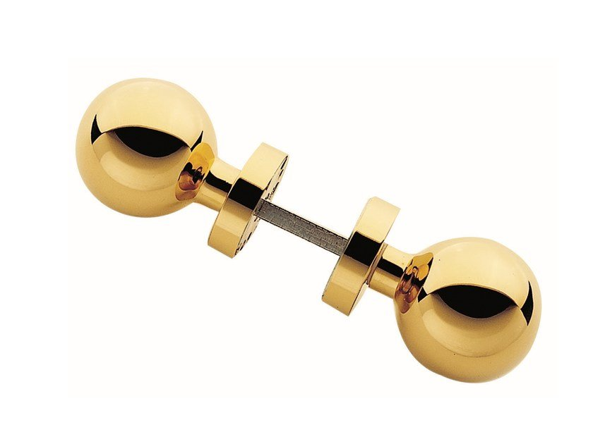 Door knob with polished finishing SET 788 - Frascio