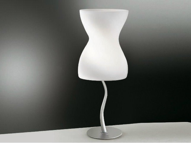 Blown glass table lamp CORPETTO | Table lamp - Cattaneo Illuminazione